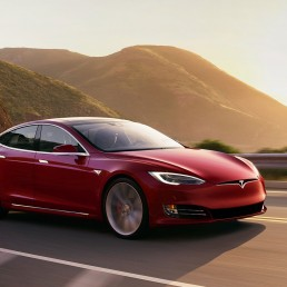 A quick story about a red Tesla